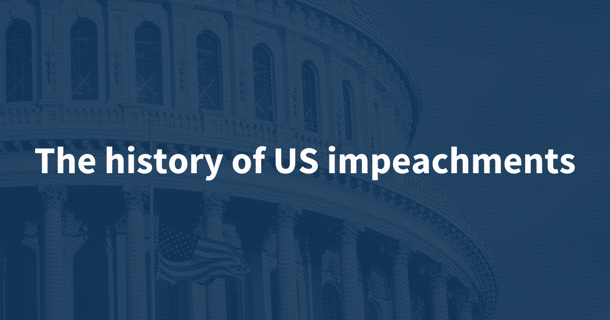 How many Americans have been impeached?