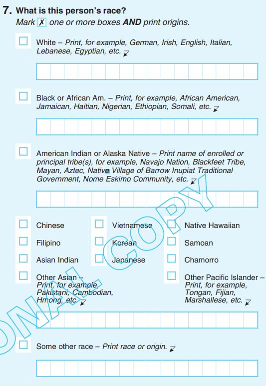 Race census