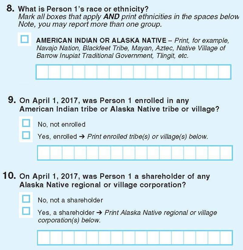 Census test 2017
